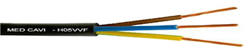 Câble souple H05 VVF(SV1V)