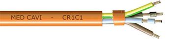 cable de sécurité anti-feu non armé CR1-C1